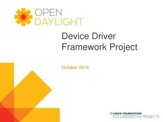 Device Driver Framework Project