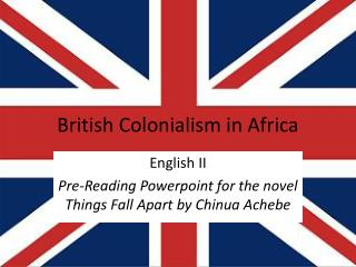 British Colonialism in Africa