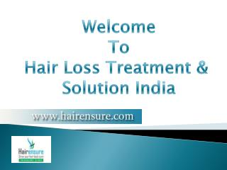 Hair Loss Treatment by Trichologist in Vadodara