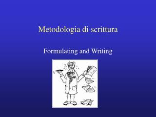 Metodologia di scrittura