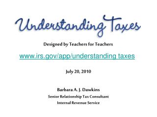 irs/app/understanding taxes