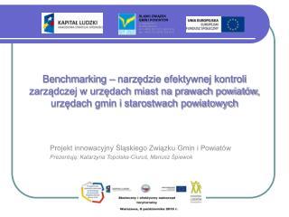 Projekt innowacyjny Śląskiego Związku Gmin i Powiatów