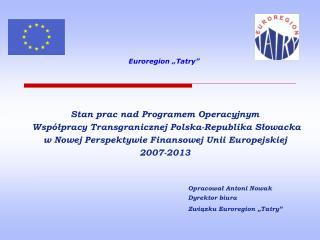 """Euroregion """"Tatry"""""""