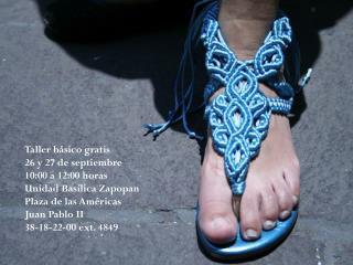 Taller básico gratis 26 y 27 de septiembre  10:00 a 12:00 horas Unidad Basílica Zapopan