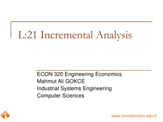 L:21 Incremental Analysis