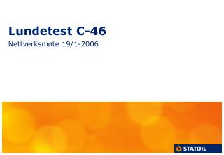 Lundetest C-46