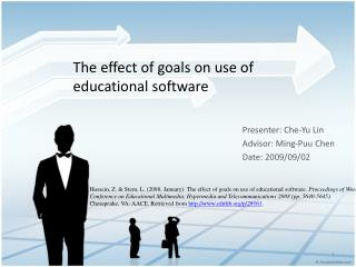 The effect of goals on use of  educational software