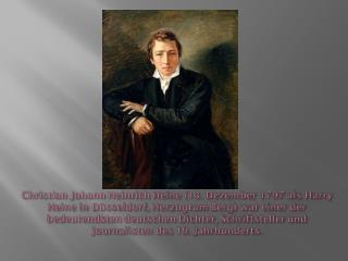 Heinrich Heine.  Jugend  und  Lehrjahre