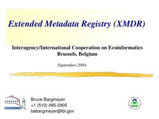 Extended Metadata Registry (XMDR)