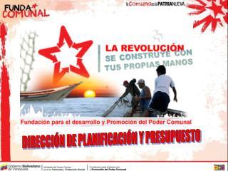 DIRECCIÓN DE PLANIFICACIÓN Y PRESUPUESTO