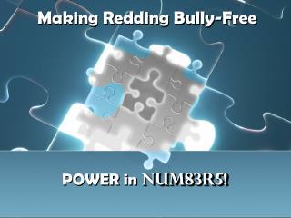 Making Redding Bully-Free