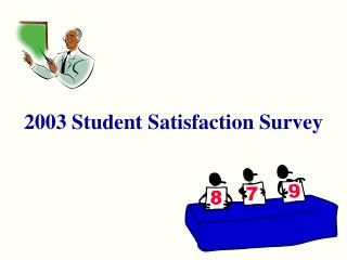2003 Student Satisfaction Survey