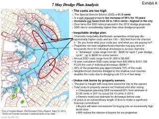 7 May Dredge Plan Analysis