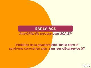 EARLY-ACS