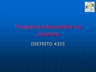 Programa Intercambio de J�venes