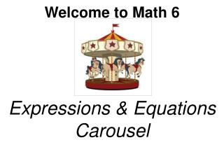 Expressions & Equations Carousel