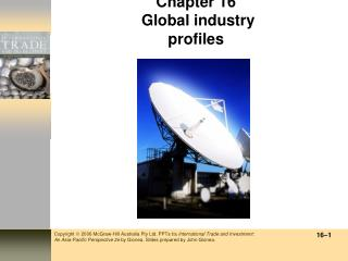 Chapter 16  Global industry profiles