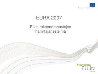 EURA 2007