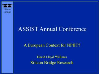 ASSIST Annual Conference