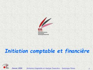 Initiation comptable et financi�re