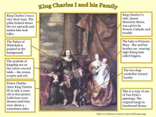 King Charles I and his Family