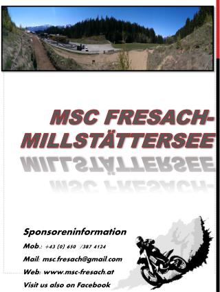 MSC FRESACH-MILLSTÄTTERSEE