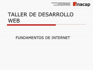 TALLER DE DESARROLLO WEB