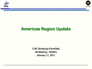 Americas Region Update