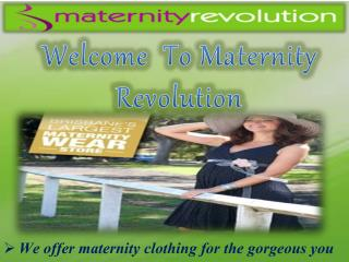Purchase Soft And Comfortable Maternity Clothes Online