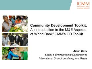 Community Development Toolkit:          An introduction to the ME Aspects of World Bank