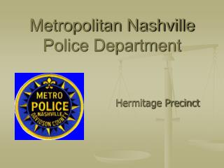 Metropolitan Nashville Police Department