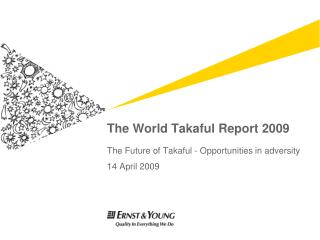 The World Takaful Report 2009