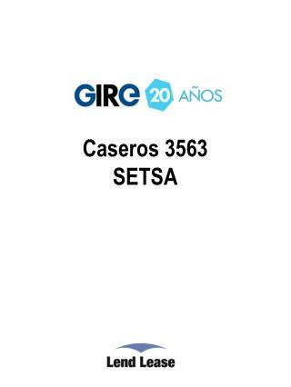 Caseros 3563 SETSA