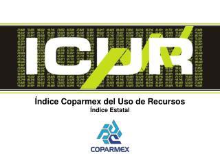 Índice Coparmex del Uso de Recursos Índice Estatal