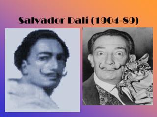 Salvador Dalí (1904-89)