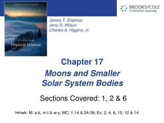 Moons and Smaller  Solar System Bodies