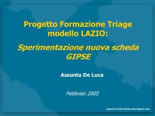 Assunta De Luca  Febbraio 2005