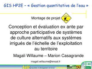 Magali Willaume – Marion Casagrande