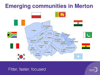 Emerging communities in Merton