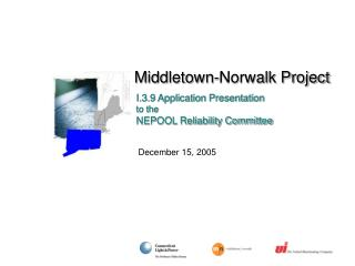 Middletown-Norwalk Project