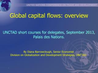 Global capital flows: overview