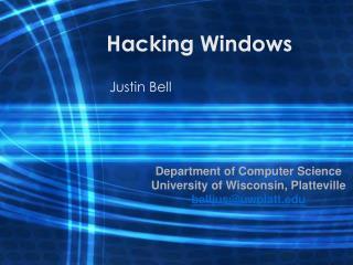 Hacking Windows