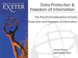 Data Protection & Freedom of Information
