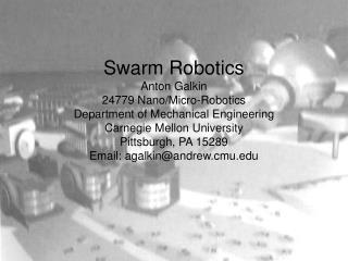 Swarm Basics