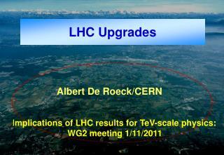 LHC Upgrades