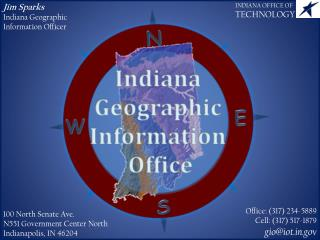 Jim Sparks Indiana Geographic Information Officer