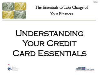 Understanding Your Credit Card Essentials