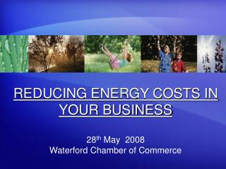 REDUCING ENERGY COSTS IN YOUR BUSINESS