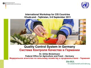 International Workshop for CIS Countries Khudz h and - Tajikistan,  5-8 September 2011