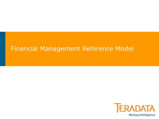Financial Management Reference Model